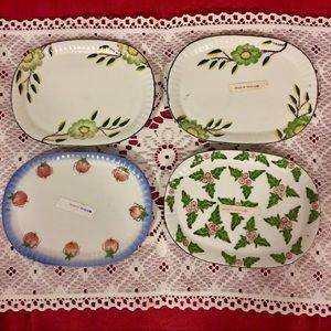 Beautiful mini various plates! Made in Thailand!